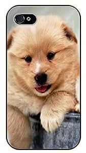 iPhone 5 / 5s Brown smile - black plastic case / dog, animals, dogs by icecream design
