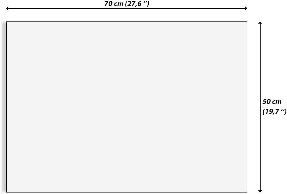 3081 prete a Suspendre AA70x50-3081 Image sur Toile encadr/ée Un /él/ément 70x50cm Tableaux pour la Mur Impression sur Toile Motif Moderne D/écoration Pret a accrocher
