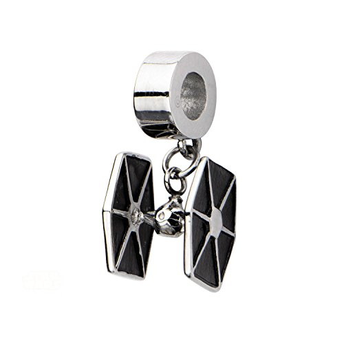 [Star Wars Tie Fighter Stainless Steel Charm] (Luke Skywalker Dark Side Costume)