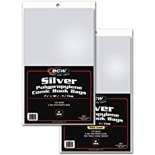 Silver Age Comic Bags and Backer Boards - 100ct by BCW