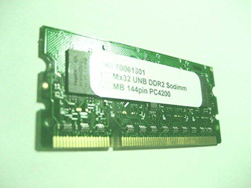 (OKI P/N 70061801) 256MB DDR2 144Pin Memory RAM for OKI Color Printer MC361, MC561, CX2731, C330dn, C530dn, C610n, C610dn, C610dtn, C610cdn, C711n, C711dn, C711dtn, C711wt
