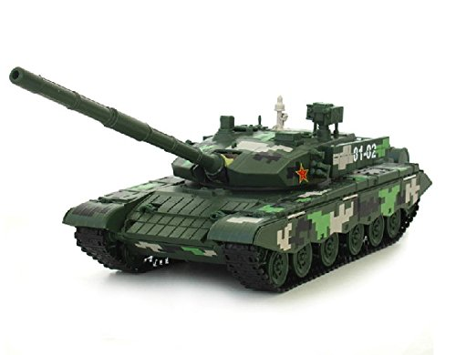 1:35 China Ztz-99 Diecast Tank Model Car