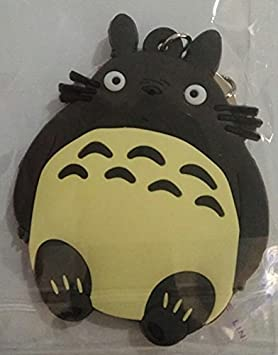 WoloShop Llavero de goma Totoro Beige Mi vecino Totoro ...