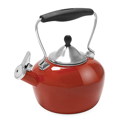chantal orange tea kettle - 2
