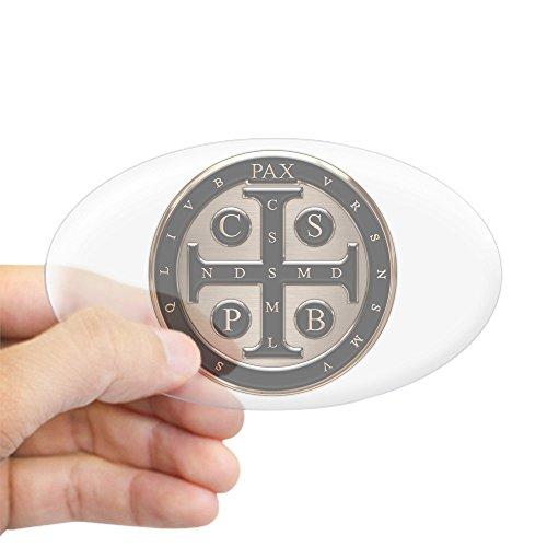 CafePress Benedict Medal Sticker Bumper