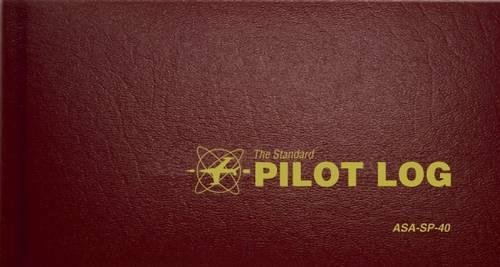 The Standard Pilot Log (Burgundy): ASA-SP-40 (Standard Pilot (Pilot Log Book)