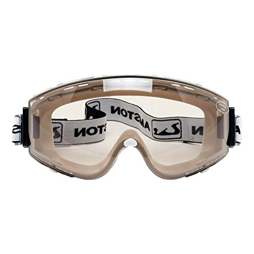 AMSTON Safety Goggles Meets ANSI Z87+ Standards - Personal Protective Equipment for Indoor & Outdoor Use In Construction, DIY, Laboratories (Tinted)