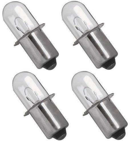 Ryobi 18 VOLT Flashlight Replacement Xenon Bulb 18V P700 P703 FL1800 4 Pack