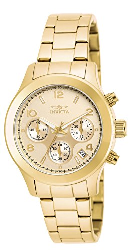 Invicta Women's 19217 Angel Analog Display Quartz Gold Watch (Watches Invicta Women Gold)