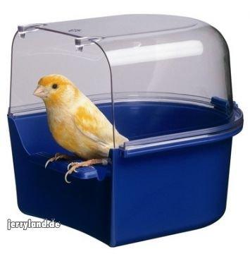 41WG91jXbBL - Ferplast Trevi Bird Bath Covered Canary 14x15x13cm