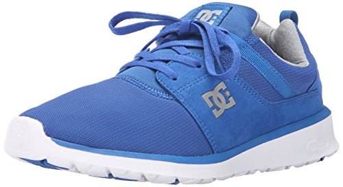 DC Men's Heathrow Casual Skate Shoe Blue/Grey