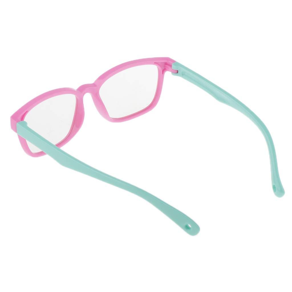 Hellgr/ün Kinder Anti Blaulicht Brille UV Schutz Gamer Computer Brille mit Blaulichtfilter f/ür PC Smartphone Tablets TV Rosa