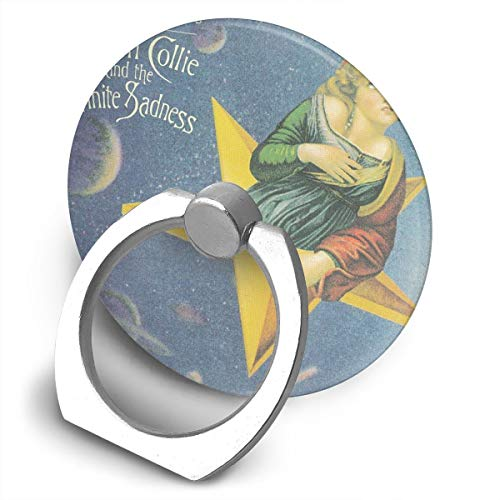 (EdithL The Smashing Pumpkins Mellon Collie and Infinite Sadness Cellstand Cell Phone Finger Ring Stand, Car Mount 360 Degree Rotation Universal Phone Ring Holder Kickstand for iPhone/iPad/Samsung)