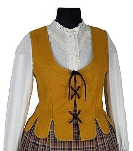 Chaleco-justillo-regional-medieval-Constanza: Amazon.es: Handmade