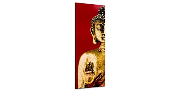 Bilderdepot24 Cuadros en Lienzo Buda II 50 x 160 cm - Listo tensa, Directamente Desde el Fabricante: Amazon.es: Hogar