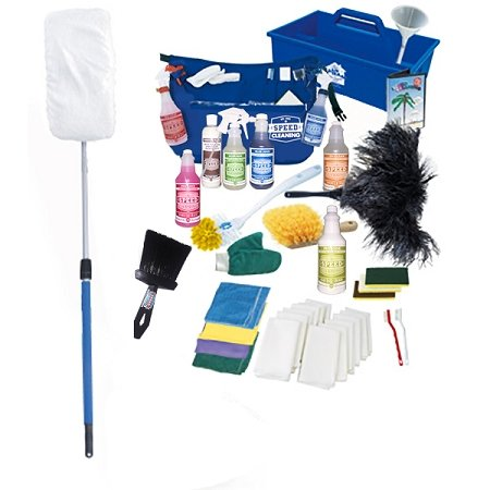 The Speed Cleaning Total Home Care Kit with The Sh-Mop