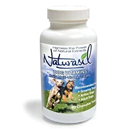 Naturasil Dog Daily Multi-Vitamin - 60 Chewable Tablets