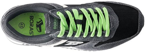 Boras Revolution zapatillas zapatillas 3188Unisex Adultos Negro negro Talla:42 UE Negro - negro