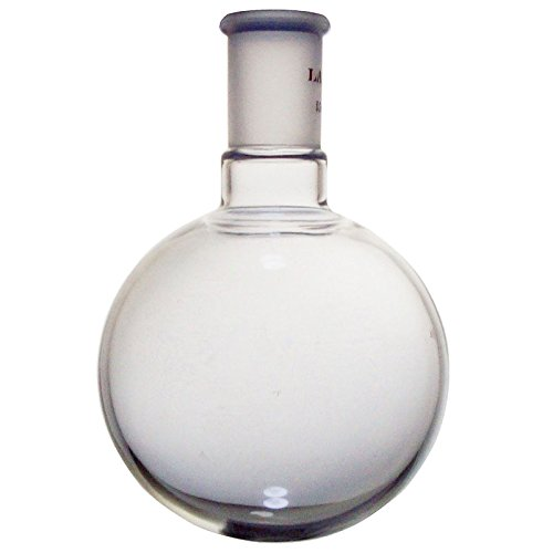 Laboy HMF010326 Glass Single Neck Round Bottom Boiling Flask 500 mL with 24/40 Joint ()