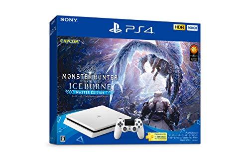 プレイステーション4本体 500GB モンハン アイスボーン スターターパック ホワイトの商品画像