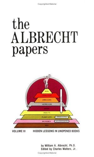 The Albrecht Papers, Vol. III: Hidden Lesson in Unopened Books