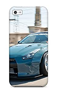 Tpu Case Cover Compatible For Iphone 4/4s/ Hot Case/ Nissan Gt-r