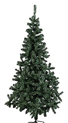 Perfect Holiday Unlit Artificial Canadian Pine Christmas Tree, 5-Feet
