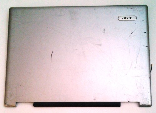 ACER - LCD COVER ASSY 14.1 IN. W/ANTENNA W/O CCD AS Acer Aspire 3680 5050 5570 5570Z & 5580 LCD back cover tsa3dzr1lctn16070607-06