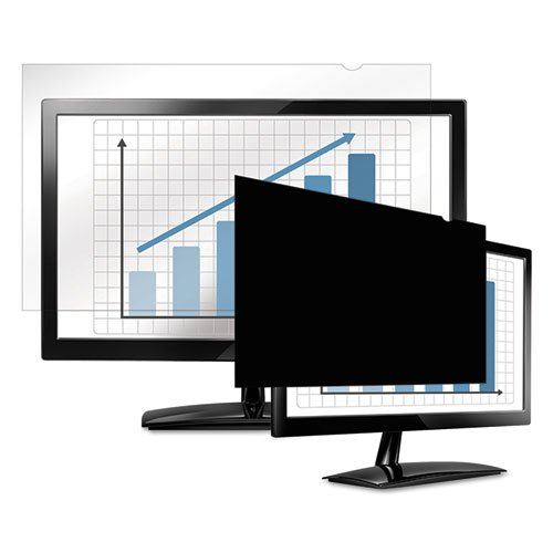 Fellowes 4801501-22IN W PRIVASCREEN BLACKOUT PRIVACY