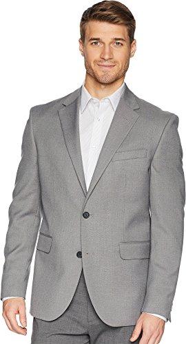(Dockers Men's Regular Fit Stretch Suit Separate Blazer Light Grey 38)