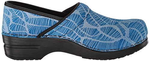 Sanita Women's Original Pro. Applique' Clog Blue WJmVYl