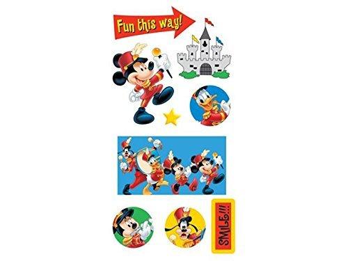 Sandylion Mickey Mini Chipboard Essentials Sticker, ()