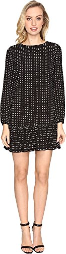 Tahari by Arthur S. Levine Women's Crepe Dot Long Sleeve ...
