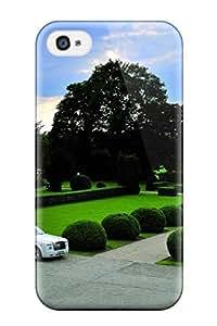BenjaminHrez Perfect Tpu Case For Iphone 4/4s/ Anti-scratch Protector Case (rolls Royce)