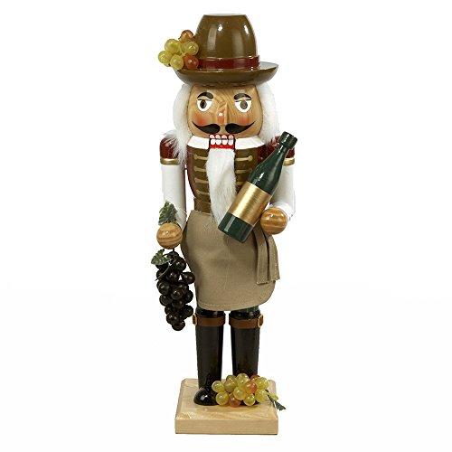 Kurt Adler 15-Inch Wooden Wine Grower Nutcracker by Kurt Adler (Image #1)