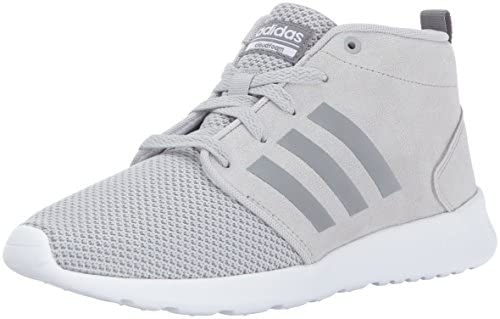 adidas NEO Women s CF QT Racer Mid W Running-Shoes, Grey Two Grey Three Crystal White