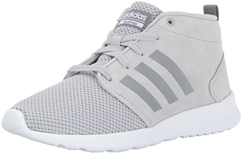 Adidas Neo Women's CF QT Racer Mid W Running-Shoes, Grey Two/Grey Three/Crystal White, Grey Two/Grey Three/Crystal White,7 M US Review