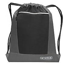 Ogio Endurance Pulse Drawstring Pack Bag (One Size) (Grey/ Black)