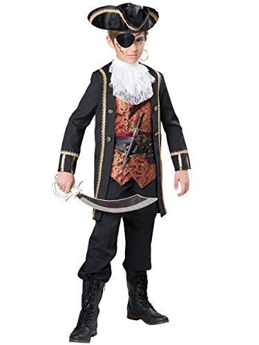 InCharacter Costumes Captain Scurvy Costume, One Color, Size 12