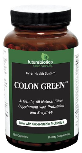 Futurebiotics Colon Green Capsules, 150-Count