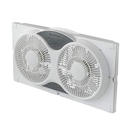Amazon.com: Comfort Zone - Ventilador de ventana doble ...