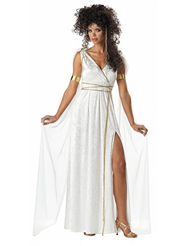 Greek Costumes Women (California Costumes Women's Athenian Goddess Costume,White,Small)
