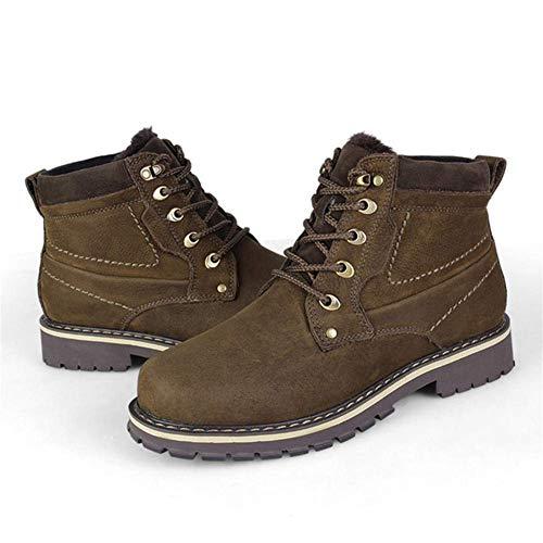 Stivali Stivali Stivali Kaki Colore FuweiEncore FuweiEncore FuweiEncore FuweiEncore Tubo Semplice Utensili Grandi per Dimensione nel Caldo Uomo Invernale da XL e vxOr6wUvq