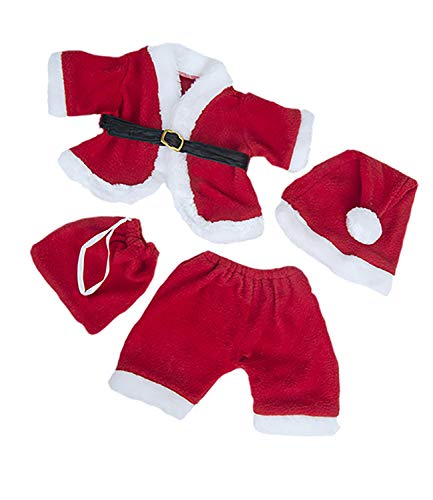Stuffems Toy Shop Santa Claus Outfit for 14