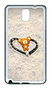 Samsung Galaxy Note 3 N9000 Cases & Covers - Love Winnie TPU Custom Soft Case Cover Protector for Samsung Galaxy Note 3 N9000 - White