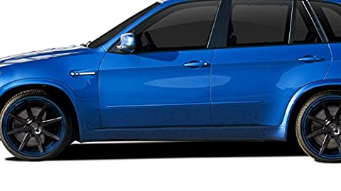 2007-2013 BMW X5 E70 AF-1 Side Skirt Rocker Panels ( PUR-RIM ) - 2 Piece - Aero Kit Side Skirts