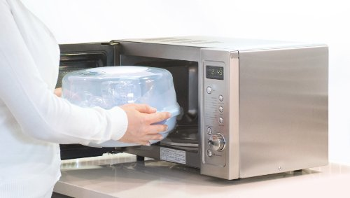 Baby Brezza Baby Bottle Sterilizer and Dryer Machine - Electric Steam Sterilization - Universal Fit - Pacifiers, Glass, Plastic, and Newborn Feeding Bottles