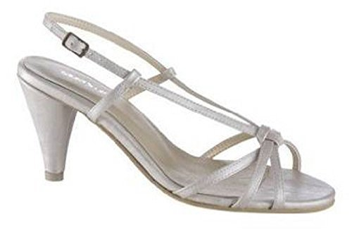 white heel Offwhite elegant from Scott High in Off sandal Laura HCw88Sq
