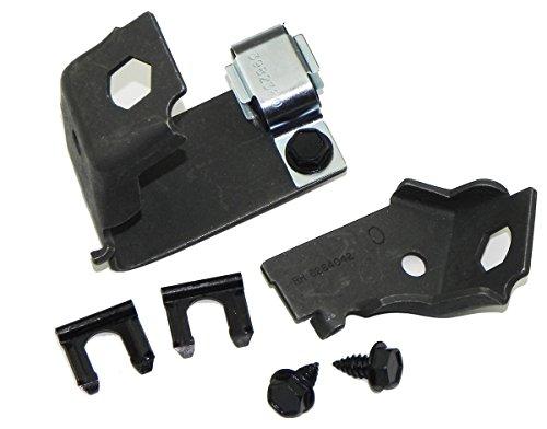 (Inline Tube (E-2-4) Sub Frame Brake Hose Brackets Compatible with 1970-81 Chevrolet Camaro and Pontaic Firebird)
