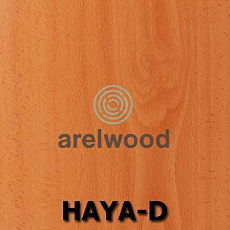 Alto 56,8 cm. arelwood Cajonera Frente Postformado Haya Clara Montada 90X45-3 Cajones